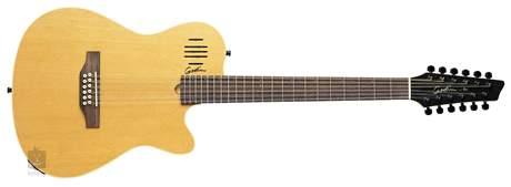 GODIN A12 Natural Dvanáctistrunná elektroakustická kytara