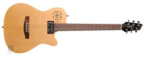 GODIN A6 Ultra Natural SG Elektroakustická hybridní kytara