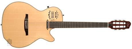 GODIN Multiac Spectrum SA Natural HG Elektroakustická hybridní midi kytara