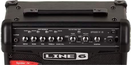 LINE 6 Spider IV 15 Kytarové modelingové kombo