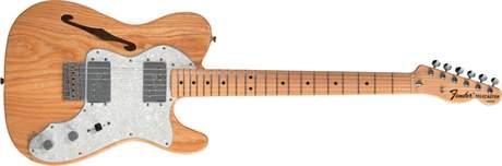 FENDER 72 Telecaster Thinline MN NA Elektrická kytara