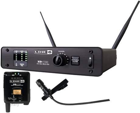 LINE 6 XD V55L (rozbalené) Bezdrátový set s klopovým mikrofonem
