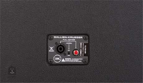 GALLIEN-KRUEGER 212MBE 8Ohm (použito) Baskytarový reprobox