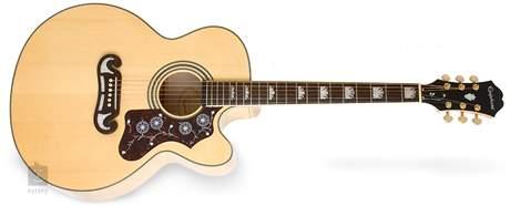 EPIPHONE EJ-200 SCE NA Elektroakustická kytara