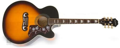 EPIPHONE EJ-200 SCE VS Elektroakustická kytara