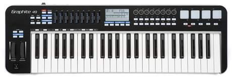 SAMSON Graphite 49 USB/MIDI keyboard