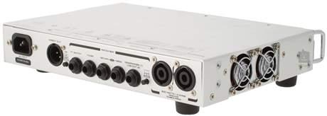GALLIEN-KRUEGER MB 800 (rozbalené) Baskytarový tranzistorový zesilovač