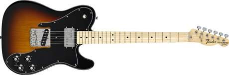 FENDER 72 Telecaster Custom MN 3SB Elektrická kytara