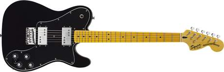 FENDER SQUIER Vintage Modified Telecaster Deluxe MN BK Elektrická kytara