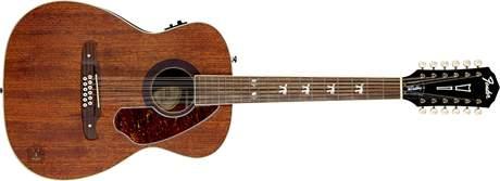 FENDER Tim Armstrong Hellcat 12 NA Dvanáctistrunná elektroakustická kytara