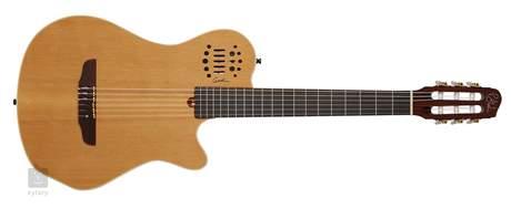 GODIN Multiac Grand Concert SA Natural HG Elektroakustická midi kytara