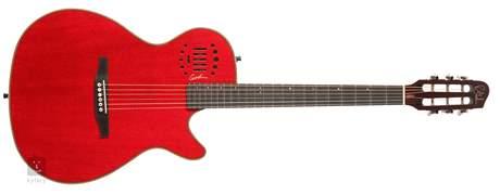 GODIN MultiAc Steel Duet Ambiance Trans Red HG Elektroakustická kytara