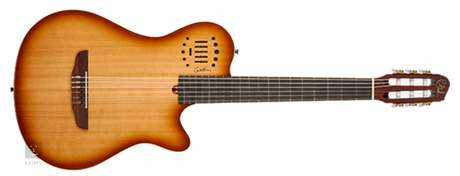 GODIN Multiac Grand Concert Duet Ambiance Lightburst HG Elektroakustická kytara