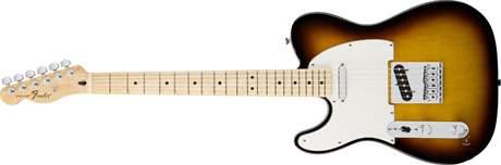 FENDER Standard Telecaster LH MN BSB Levoruká elektrická kytara