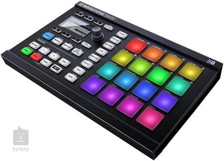 NATIVE INSTRUMENTS Maschine Mikro MK2 BK MIDI kontroler, groove software
