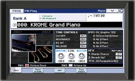 KORG KROME 61 GOLD Workstation, syntezátor - limitovaná verze