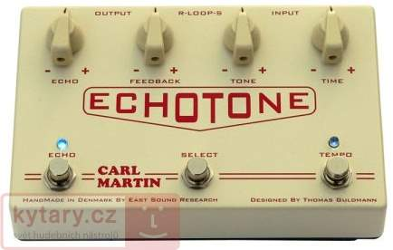 CARL MARTIN EchoTone Kytarový efekt
