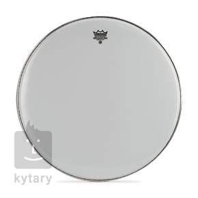 """REMO 28"""" Ambassador Smooth White Blána na pochodové bubny"""