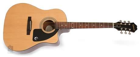EPIPHONE AJ-100CE NA Elektroakustická kytara