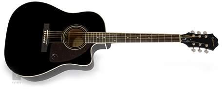 EPIPHONE AJ-220SCE EB Elektroakustická kytara