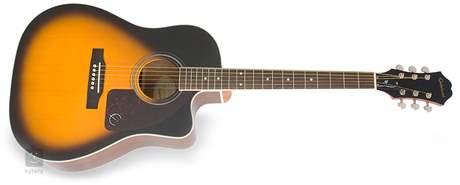 EPIPHONE AJ-220SCE VS Elektroakustická kytara