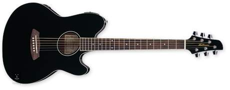 IBANEZ TCY 10E BK Elektroakustická kytara