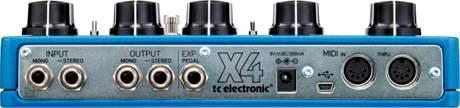 TC ELECTRONIC Flashback X4 Delay Kytarový efekt