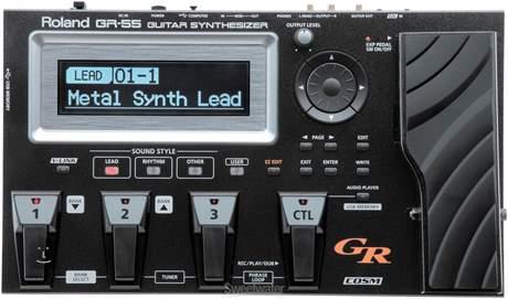 ROLAND GR 55GK BK Kytarový syntezátor