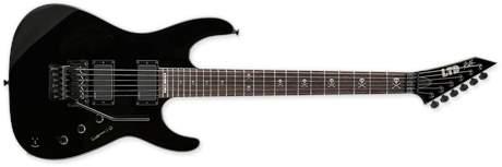 ESP LTD KH-602 BK Elektrická kytara