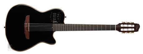 GODIN Multiac ACS-SA Nylon Black Pearl HG Elektroakustická midi kytara