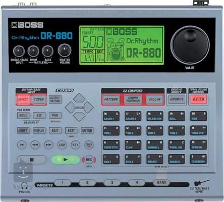 BOSS DR-880 Automatický bubeník
