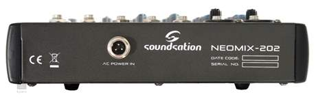 SOUNDSATION Neomix 202 Analogový mixážní pult