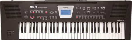 ROLAND BK-3 BK Keyboard, aranžér
