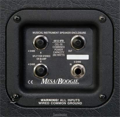 MESA BOOGIE Recto Standard Slant 4x12 Kytarový reprobox