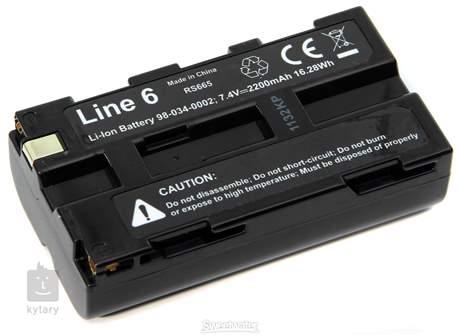 LINE 6 JTV BA12 Li-Ion Battery Baterie pro Line 6 JTV
