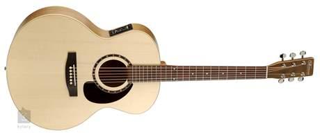 NORMAN Encore B20 Mini Jumbo Presys Elektroakustická kytara