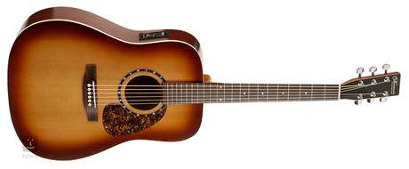 NORMAN Protege B18 Cedar Tobacco Burst Presys Elektroakustická kytara