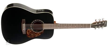 NORMAN Protege B18 Cedar Black Presys Elektroakustická kytara