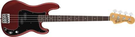 FENDER Nate Mendel P Bass RW CAR Elektrická baskytara