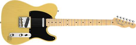 FENDER American Vintage 52 Telecaster MN BB Elektrická kytara