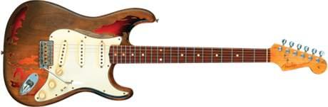 FENDER Rory Gallagher Tribute Stratocaster RW 3SB Elektrická kytara