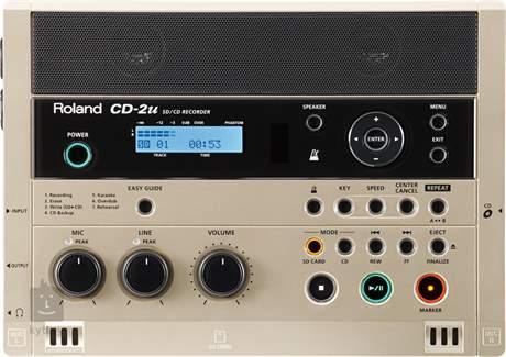 ROLAND CD-2u Multistopý rekordér