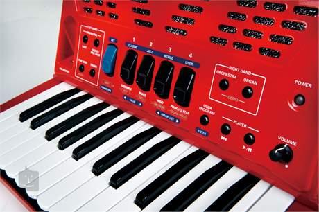 ROLAND FR-1X RD Digitální akordeon, V-Accordion