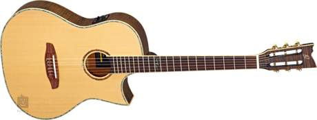 ORTEGA OPAL-NY-AGB Klasická elektroakustická kytara