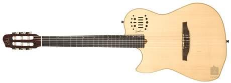 GODIN Multiac Nylon SA Natural HG LH Levoruká elektroakustická midi kytara