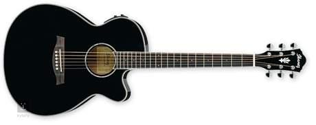 IBANEZ AEG 10II BK Elektroakustická kytara