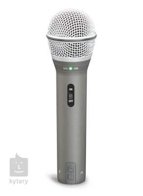 SAMSON Q2U USB dynamický mikrofon, sluchátka HP20