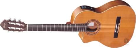 ORTEGA RCE131L Levoruká elektroakustická klasická kytara