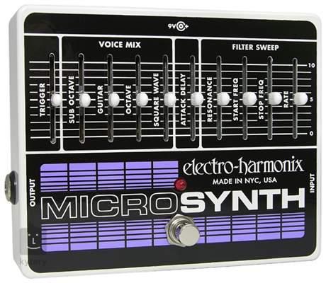 ELECTRO HARMONIX Microsynth Kytarový syntezátor