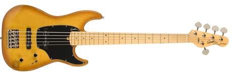 GODIN Shifter Classic 5 Creme Brulee HG MN (rozbalené) Elektrická baskytara
